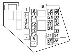 fuse box diagram 2007 mazda mx 5