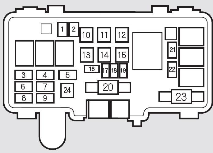 2003 acura mdx fuse box schematics wiring diagrams u2022 rh schoosretailstores com 2004 acura mdx wiring diagram 2004 Acura MDX