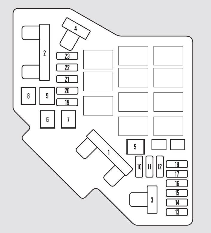 2011 Ridgeline Fuse Box Wiring Diagram