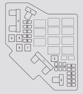 2009 honda cr v fuse box diagram