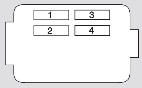 Honda CR-V (2005 - 2006) - fuse box diagram - Auto Genius