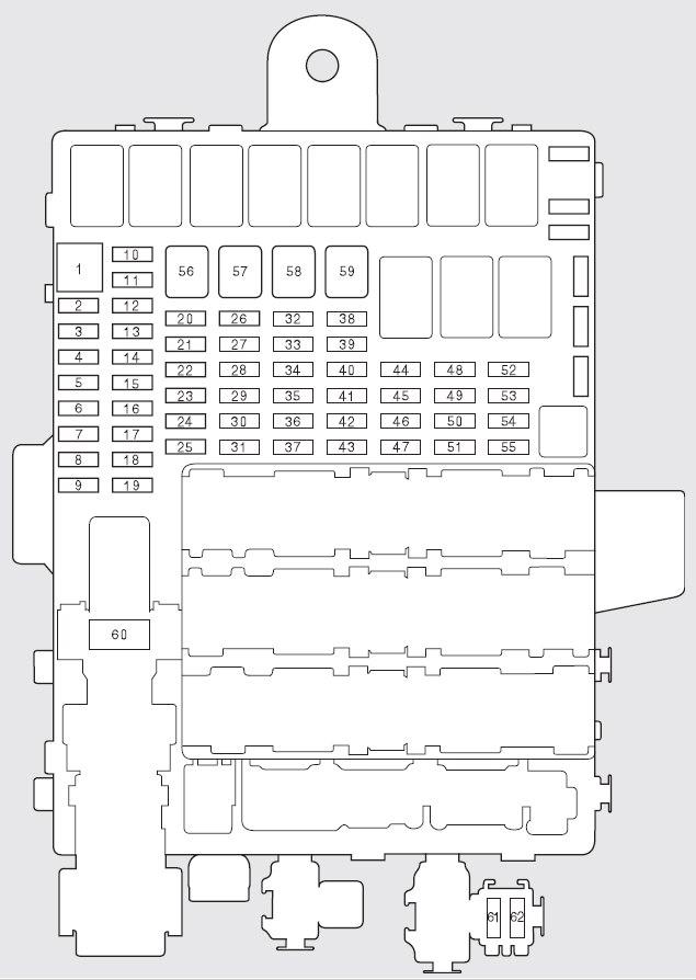 Honda Fit (2011) - fuse box diagram - Auto Genius