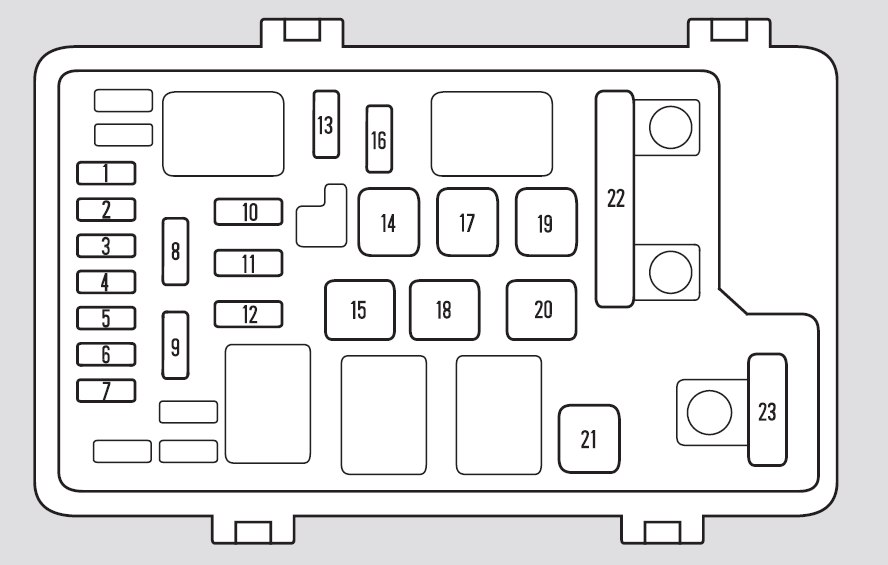 2002 Honda Odyssey Fuse Box circuit diagram template