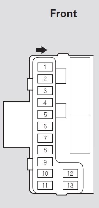 Honda Pilot (2007 - 2008) - fuse box diagram - Auto Genius