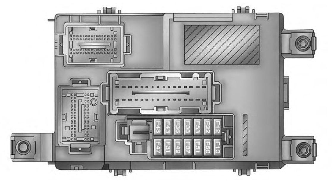 fuse box diagram for 2011 camaro