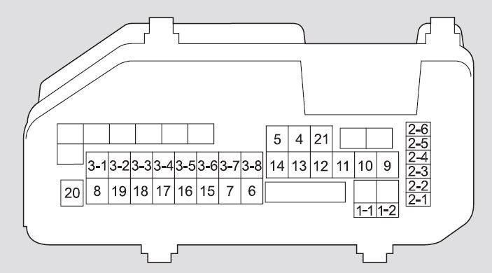 acura tsx 2010 fuse box diagram