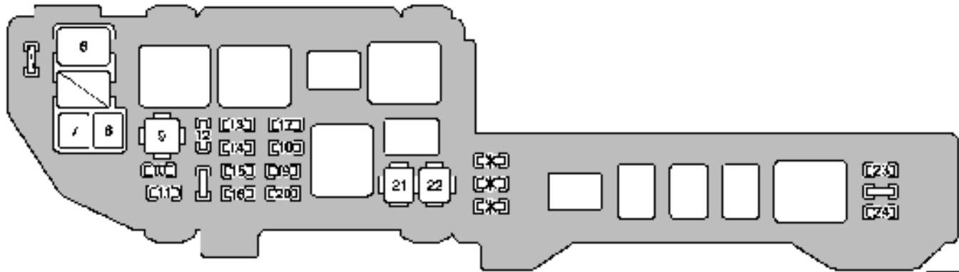 For 2003 Lexus Es300 Fuse Box Wiring Diagram