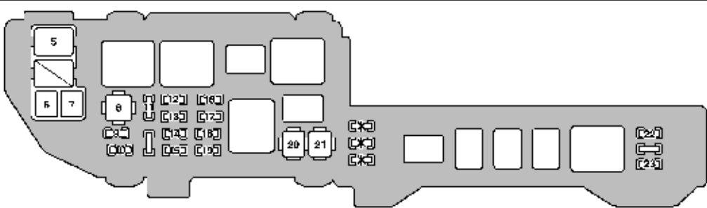 99 Lexus Es300 Fuse Box Diagram Wiring Schematic Diagram