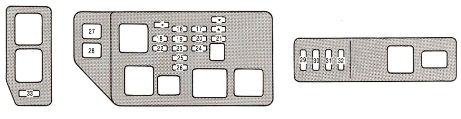 2001 Lexus Es300 Fuse Diagram Wiring Diagram