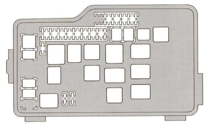1993 Lexus Gs300 Fuse Box Diagram Index listing of wiring diagrams