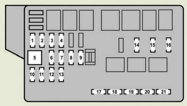 Lexus Gs350 Fuse Box Electronic Schematics collections
