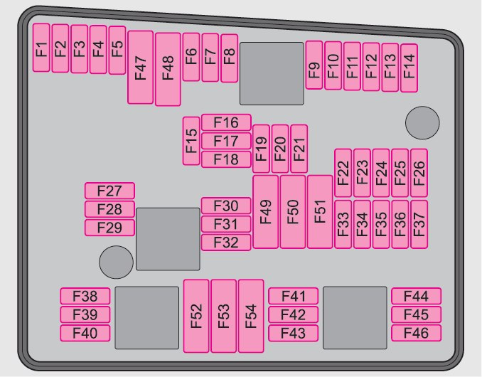 Skoda Superb (2008 - 2009) - fuse box diagram - Auto Genius