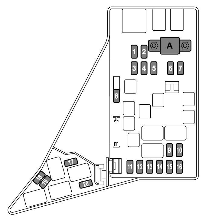 Subaru Forester (2014 - 2016) - fuse box diagram - Auto Genius