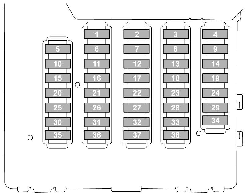 2005 Subaru Forester Fuse Box Wiring Diagram