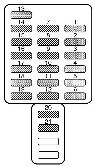 Subaru Outback (2001 \u2013 2002) \u2013 fuse box diagram - Auto Genius