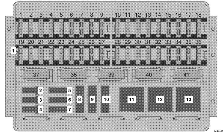 Dodge Sprinter (2005 - 2006) \u2013 fuse box diagram - Auto Genius