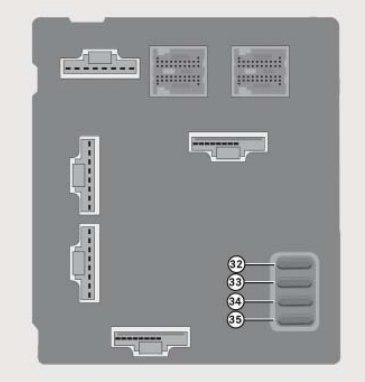Smart Fortwo (2008) - fuse box diagram - Auto Genius