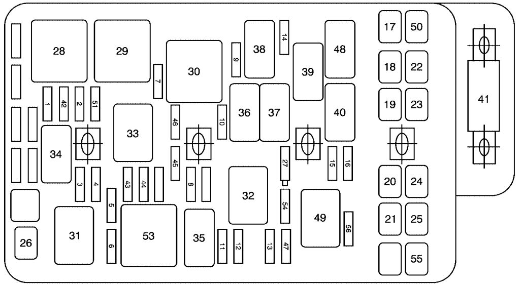 2010 chevy malibu interior fuse box diagram