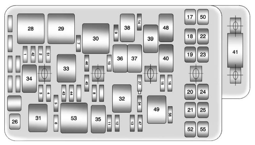 2009 Malibu Fuse Box Wiring Diagram