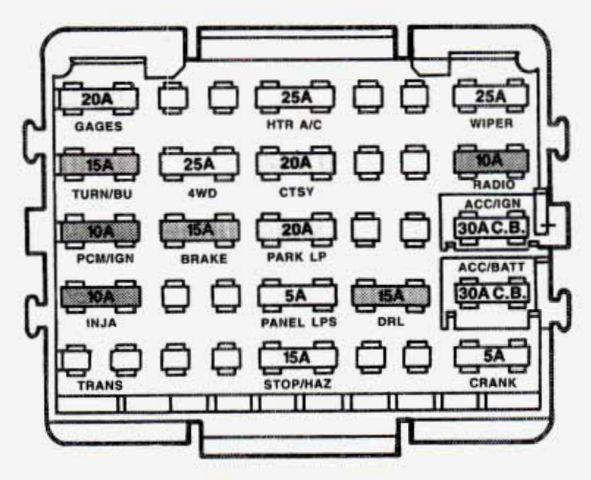 94 Gmc Jimmy Fuse Box Wiring Diagram