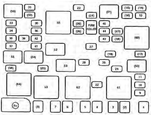 2004 Kia Fuse Box Diagram Wiring Schematic Diagram