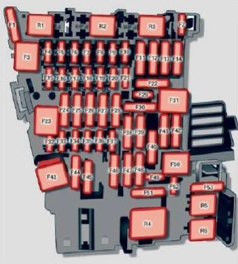 Audi A3 (2015) - fuse box diagram - Auto Genius