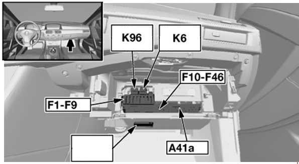 2008 bmw 5 series fuse box diagram