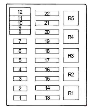200 ford f 250 fuse box diagram 6
