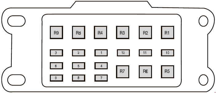 Ford Ranger T6 (2011 - 2018) - fuse box diagram - Auto Genius