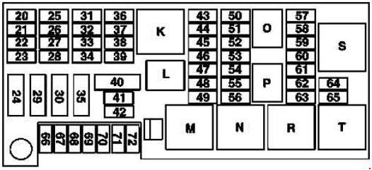 mercedes r350 fuse diagram