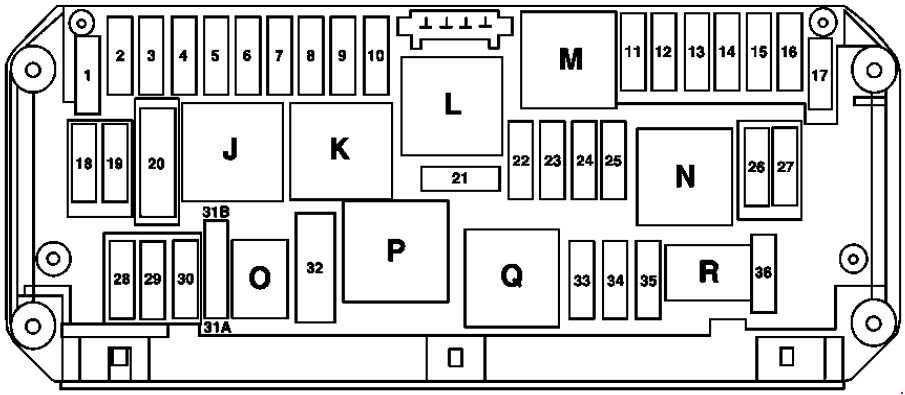 mercedes e350 fuse box diagram 2010