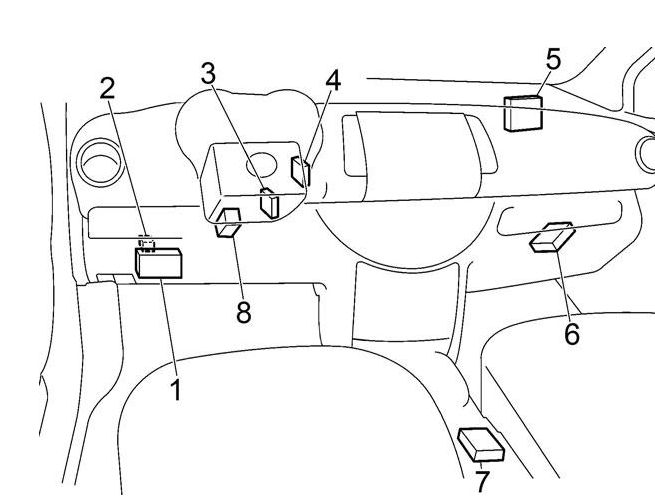 2004 nissan armada fuse box diagram