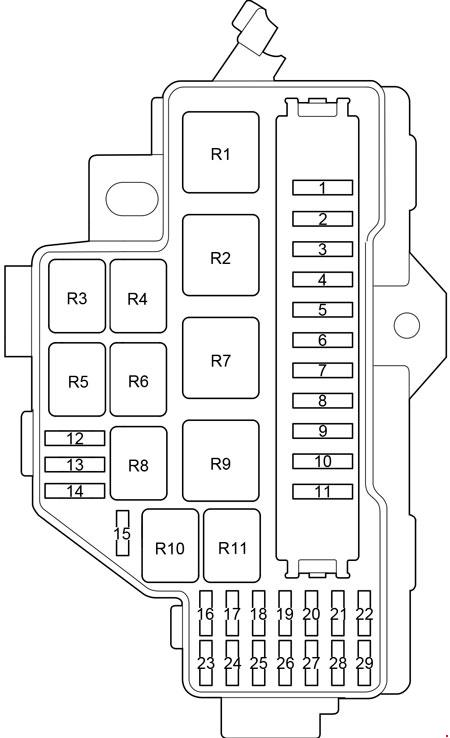 fuse box diagram for toyota hiace