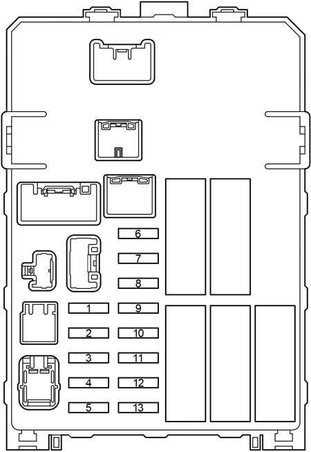 Toyota Hilux (2004- 2015) - fuse box diagram - Auto Genius