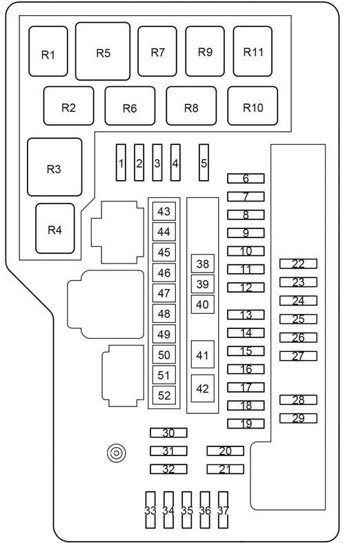 fuse box toyota venza wiring diagram completed Mustang Fuse Box