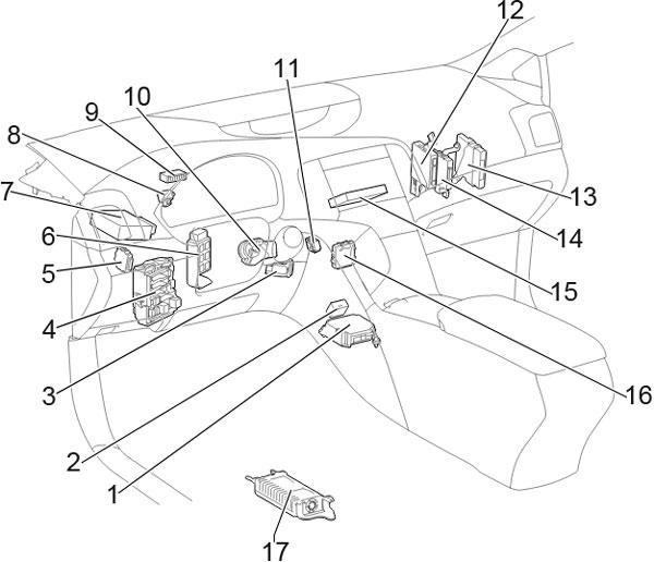 2009 Toyota Venza Wiring Diagram