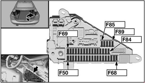 BMW 5-Series (E60, E61) (2003 - 2010) - fuse box diagram - Auto Genius
