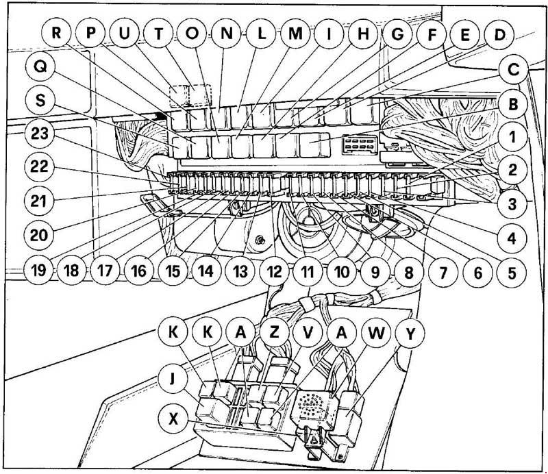 89 e350 fuse box diagram