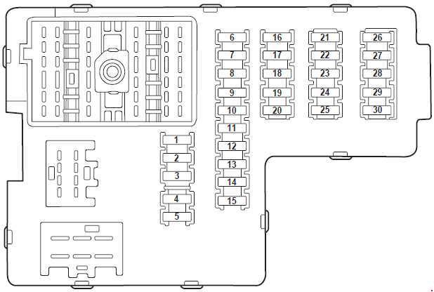Ford Explorer U152 (2000 - 2006) - fuse box diagram - Auto Genius