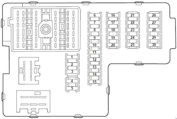 fuse panel diagram 2006 ford explorer