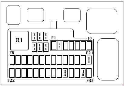 2003 jaguar s type fuse box diagram