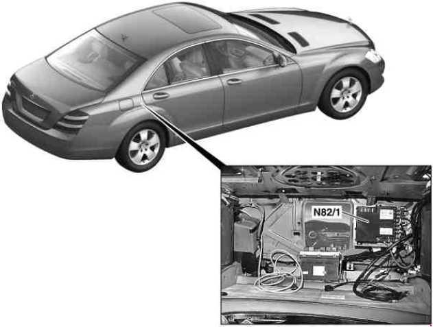 Mercedes S Class w221 (2005 - 2013) - fuse box diagram - Auto Genius