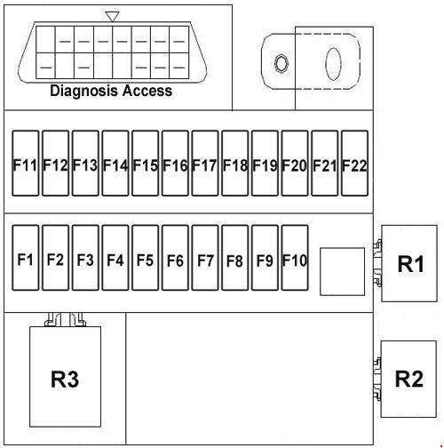 chery j11 wiring diagram