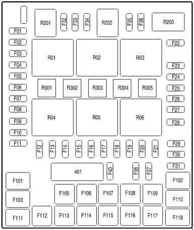 Ford F-150 (2004 - 2008) - fuse box diagram - Auto Genius