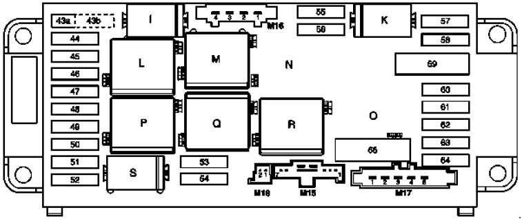 Benz Fuse Diagram Pdf Wiring Diagrams
