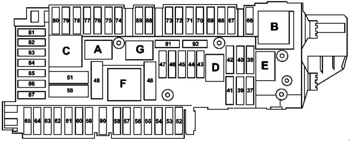 Admirable Pre S55 Fuse Box Cyber T Us Wiring 101 Ivorowellnesstrialsorg