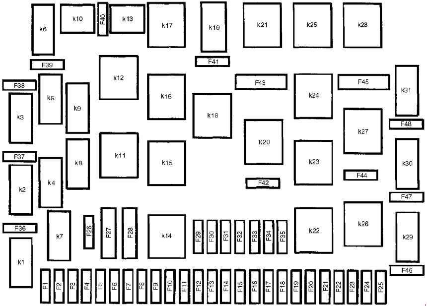 97 C230 Fuse Box Diagram Wiring Diagram