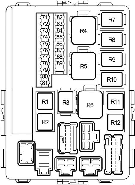 2006 nissan altima engine fuse box diagram