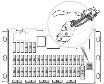 rover cruise control diagram