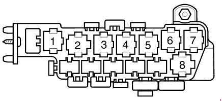 2004 passat fuse box diagram